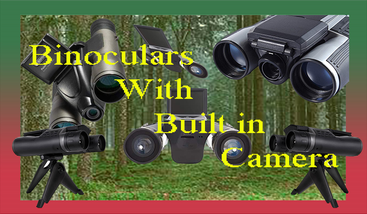 What Are the Best Binoculars with Built in Digital or Video Camera